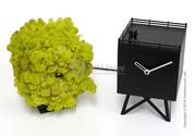 Эстетичные часы настольные Progetti Birdwatching Clock